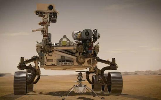 "NASA""毅力号""火星车成功登陆火星并回传首张照片"