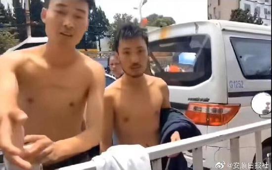披露细节!贵州安顺公交坠湖 两位90后目击者为救人受伤图片