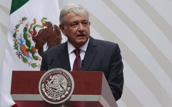 墨西哥总统自称感染新冠:现年67岁 患有心脏病高血压
