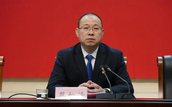 候补中央委员蔡松涛拟晋升,曾任兰考县委书记