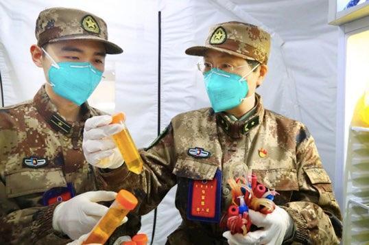 [摩天测速]院士摩天测速披露新冠疫苗研发图片