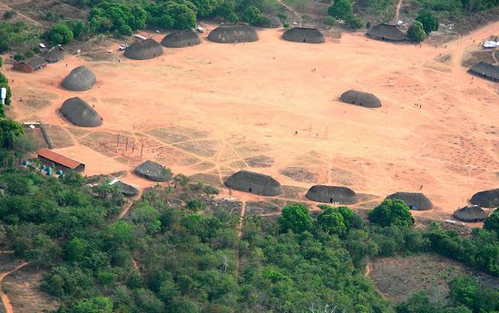 巴西欣古族人的居住地。/Pedro Biondi/ABr