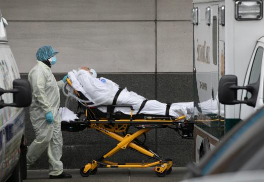 美疾控中心:美国至少32个州出现变异新冠病毒