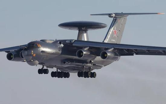俄罗斯空军A50预警机