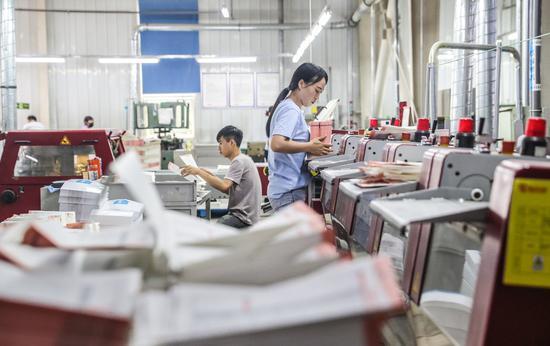 """北京""""书香""""飘河北 近十家北京印刷企业在这里落户"""