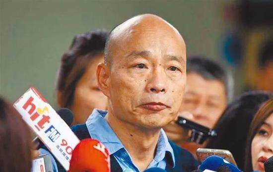 罢韩案通过 韩国瑜成台湾史上第一位被罢免的县市长图片