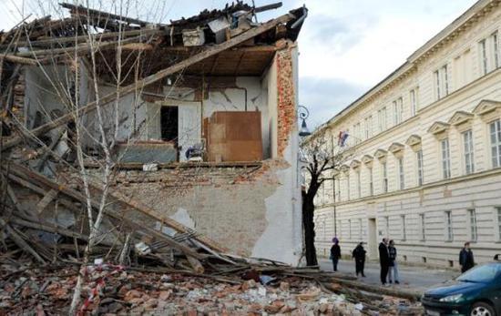 克罗地亚地震已致7死 总理预计死亡人数还会上升