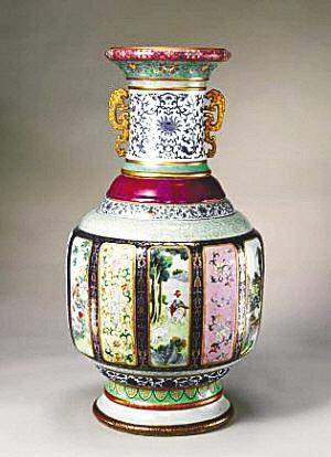 """""""瓷母"""":各种釉彩大瓶"""