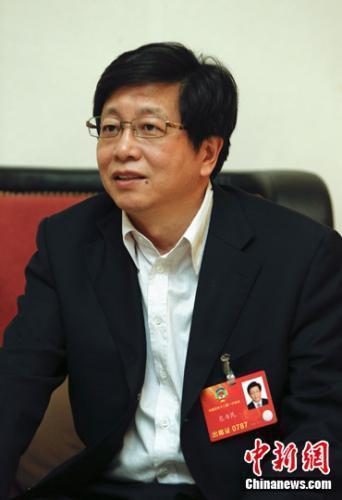 全国政协委员、中国航天科技集团科技委主任包为民(中新闻 图)