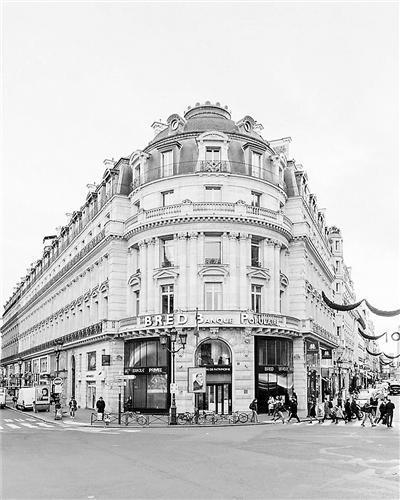 弗朗索瓦拍摄的巴黎街景
