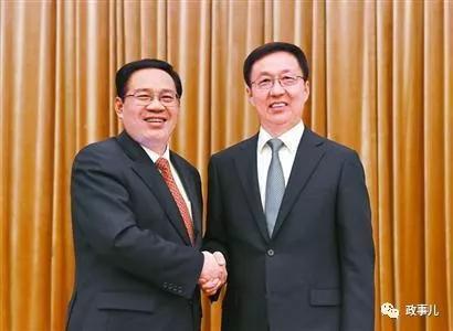 韩正和李强