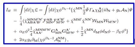 引力量子场论理论框架下给出的规范不变超统一场论作用量