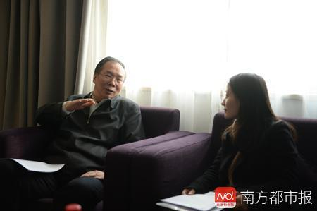 王国庆曾连续两年接受南都记者专访。南都特约摄影师供图