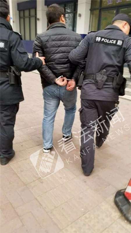 警方抓获一名嫌疑人