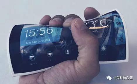 想想科幻电影里手机植入手掌皮肤成真了,