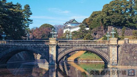 日本皇宫外景资料照片