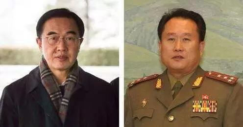 """据新华社报道,双方团长都是南北会谈""""老将"""",经验丰富。"""