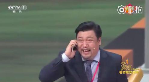 2、妻子蔡明:每次见他(丈夫潘长江),我心里砰砰砰,怎么看怎么像李易峰!