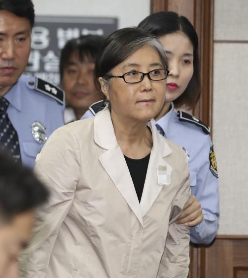 崔顺实一审获刑20年 韩媒:将成朴槿惠案