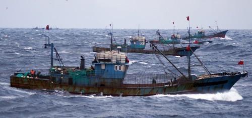 中国渔船(材料图)