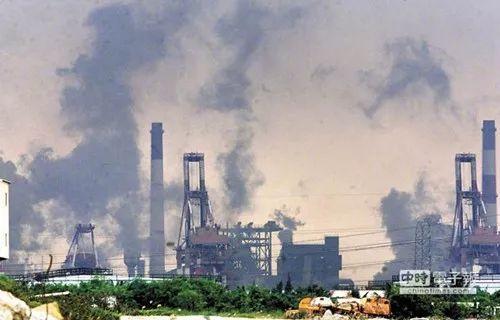 ▲高雄重工业区(台湾中时电子报)