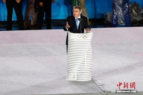 资料图:国际奥委会主席巴赫。