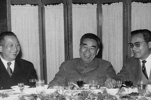 1963年12月,周恩来访问摩洛哥。