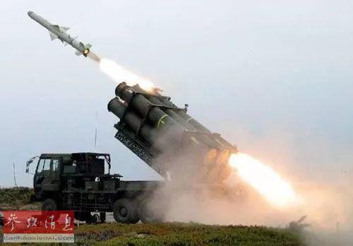▲资料图片:日本88式陆基反舰导弹在宫古岛参加演习。