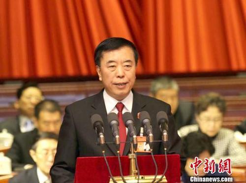 资料图:北京市高级人民法院院长杨万明。 曾鼐 摄