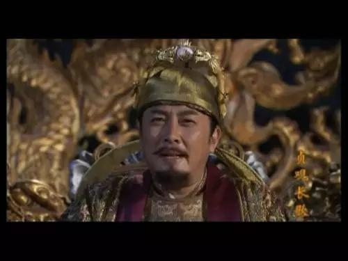 唐国强饰演的唐太宗