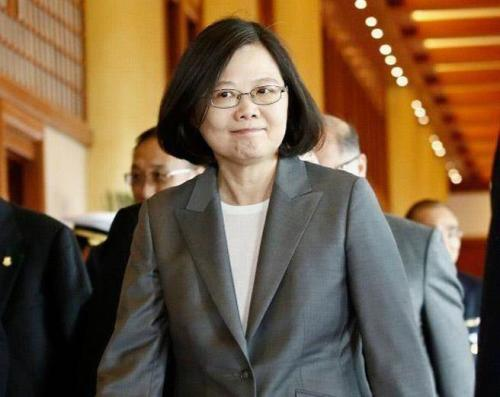 蔡英文的两岸政策惹6成岛民不满意(图片来源:台湾《中时电子报》)