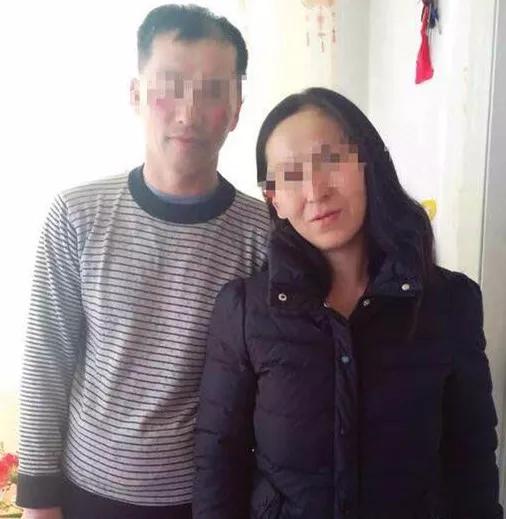 遇害人李长银和妻子的合影