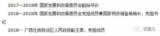 22日《广西日报》公布的费志荣简历
