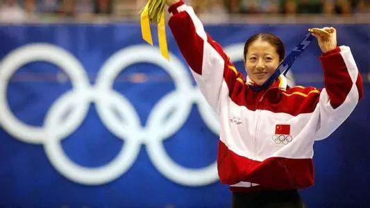 ▲资料图片:大杨扬为中国夺得冬奥会首金。