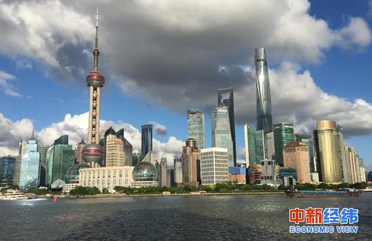 材料图:上海内滩。 中新经纬王永乐 摄