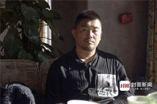 徐晓冬接受采访