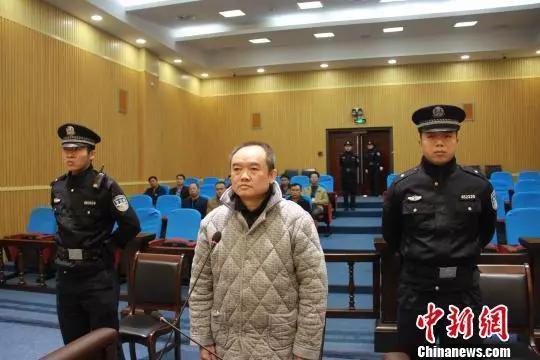 邢太何在法庭上接收审讯。图片起源:中新网