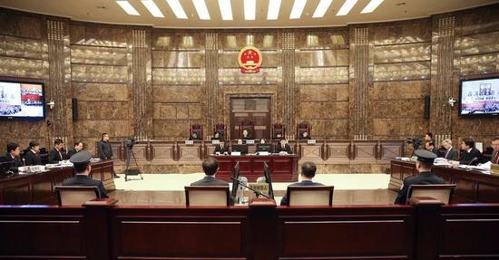 最高人民法院张文中案再审合议庭召开庭前会议。孙若丰 摄