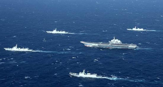 中国南海。(图片来源:台媒)
