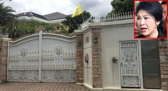 英拉名下价值1.1亿泰铢(约合2206万元人民币)的豪宅。
