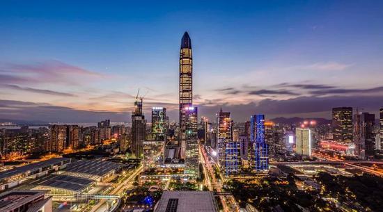 深圳GDP超香港广州仅次京沪 还有项强大动力(图)