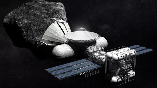 ▲随着地球上珍贵资源渐渐减损,宇宙采矿正在变成探勘者的下一个最前沿阵地 图据News Limited