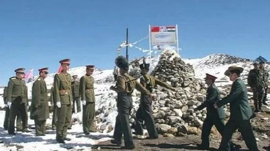 中印边界军人(印媒资料图)