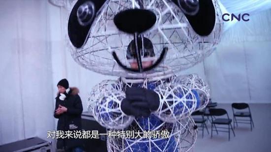 13个月,是北京接旗仪式文艺表演从组建到演出的全过程。