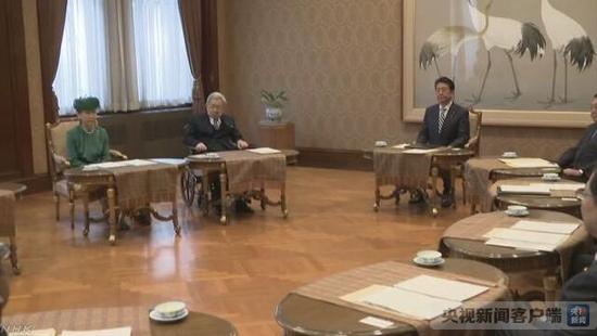 新闻照片(图片来源:NHK)