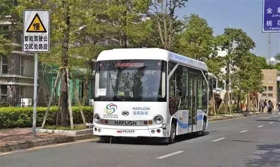 智能驾驶公交系统深圳首发试运行 图/新华社