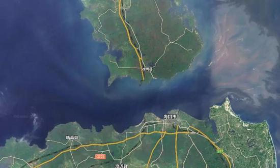 △ 这就是琼州海峡