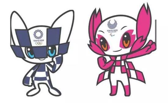 东京奥运吉祥物亮相 网友吐槽发际线.图片