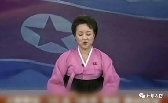 他上台后,朝鲜的电视节目瞬间洋气了↓↓。