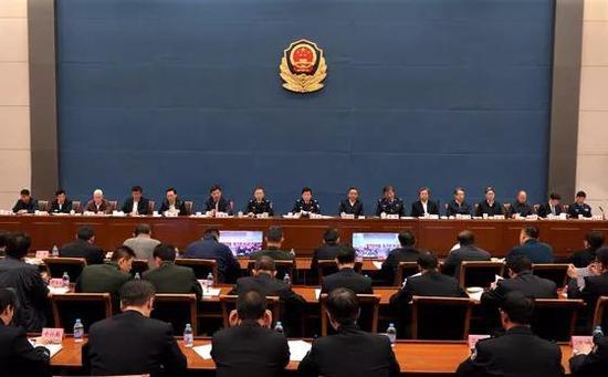 赵克志出席会议并讲话。